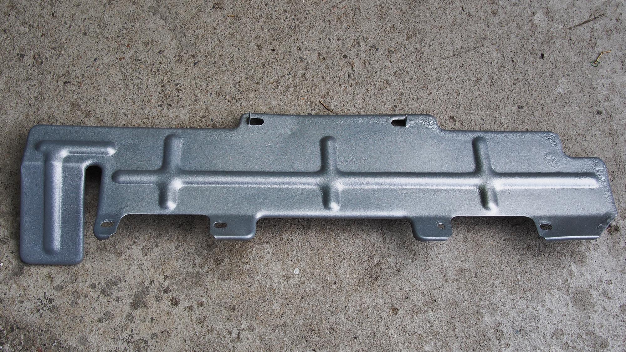 240Z Early Heat Shield