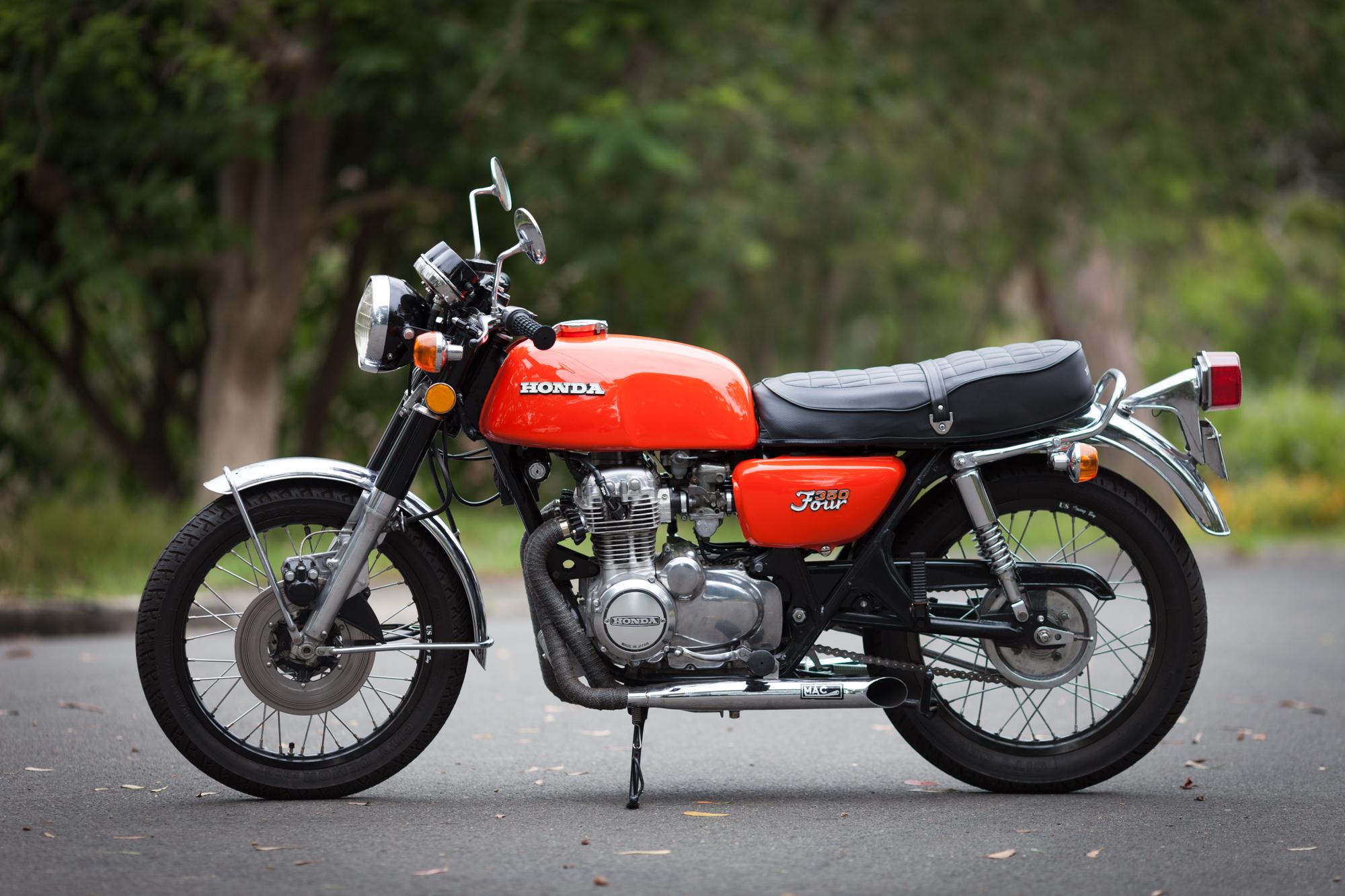 Honda CB350F 1972