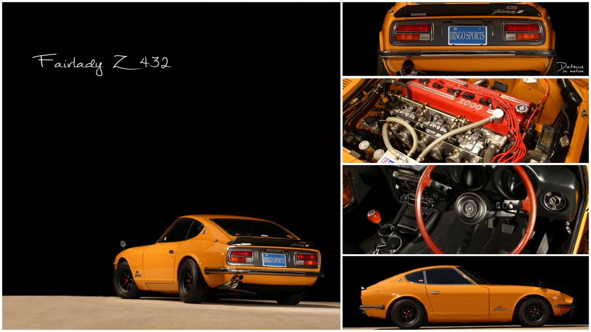 Datsun 432R Collage